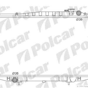Navara 96-00 Radiators 2.5TD/3.2D